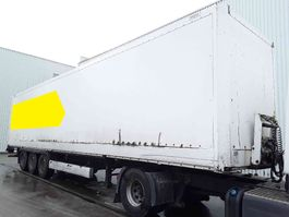 closed box semi trailer Krone Oplegger 2007
