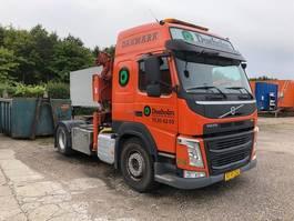 crane truck Volvo FM 410 2014