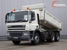 tipper truck > 7.5 t DAF FAT CF85.360 6x4 Kipper, Tipper - Manuel 2008