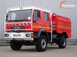fire truck MAN LE 18.220 4x4 - GIMAEX - Rosenbauer - feuerwehr - fire brigade - brandwe... 2005