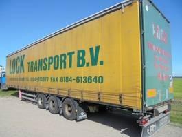sliding curtain semi trailer Samro 3as mega, heavy duty, hard houten vloer Nieuw APK 2007