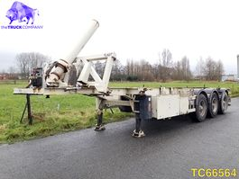 container chassis semi trailer LAG Container Transport 2006
