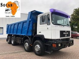 tipper truck > 7.5 t MAN 41.372  8x4  FULL STEEL 1995