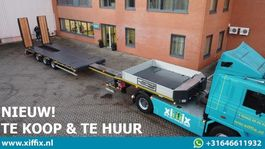 semi lowloader semi trailer Goldhofer NIEUW TE KOOP & TE HUUR: 3-ass. Uitschuifbare semi dieplader met dubbele hydr. kleppen 2021