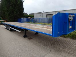 flatbed semi trailer Van Hool 3B2011 3 As Oplegger Open MEGA, OJ-11-NH 2006