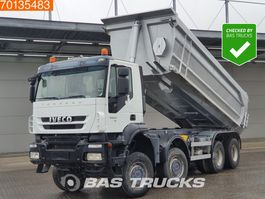 tipper truck > 7.5 t Iveco Trakker 410 AD410T45 8X8 8x8 Manual Big-Axle Steelsuspension Euro 5 2011