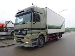closed box truck Mercedes-Benz ACTROS 2540 6X2 / EURO 2 / EPS 3 PEDALS / BELGIUM TRUCK / TOP CONDITION !! 1999