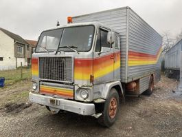 closed box truck Volvo Original belgium Volvo F88 1978