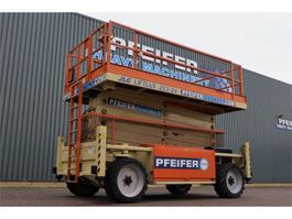 scissor lift wheeld JLG 203-24 Valid inspection, *Guarantee! Diesel, 4x4 D 2008