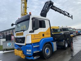 cab over engine MAN TGS 26.440 6X4 MANUAL + HIAB 300-6 MET REMOTE 2012