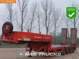 lowloader semi trailer Faymonville STZ-4AAU 4 axles 2x Ausziehbar Bis: 20.10m 4x Hydr. Lenkachse 1999