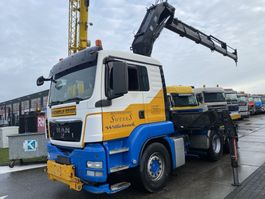 crane truck MAN TGS 26.440 6X4 MANUAL + HIAB 300-6 MET REMOTE 2012