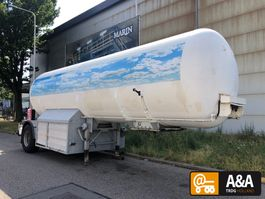 Tankauflieger Hobur LPG GPL propane propan 28.500 L 1991