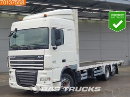 platform truck DAF XF 105 510 6X2 Intarder Euro 5 2013
