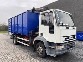 tipper truck > 7.5 t Iveco 150E24 KIPPER + KRAAN 2001