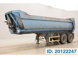 tipper semi trailer Kaiser 26 cub in steel* 2001