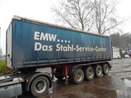 sliding curtain semi trailer Oplegger 4-asser met BPW -assen