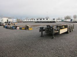 container chassis semi trailer Schmitz Cargobull SCF 24 G-40 LX mit Thermo King Genset SG 3000 2008