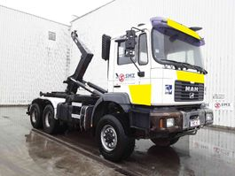 container truck MAN FE 410 6x6 2002