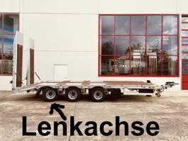 lowloader semi trailer Möslein TT 31 F  31 t GG Tridem- Tieflader 3 Achs, gelenktNeufahrzeug 2021