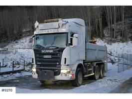 tipper truck > 7.5 t Scania R560 6x4 HHZ Snowrigged 2008