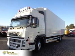 closed box truck Volvo FM7 310 + Dhollandia Lift 2008