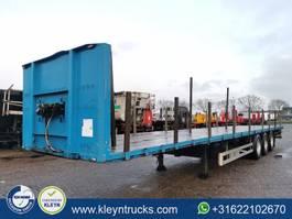 flatbed semi trailer Pacton T3-001 2004