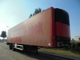geschlossener Kasten Auflieger Mirofret 2-Axle Iso Box / Steering Axle / BPW Axles / Loading Lift 2006