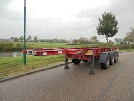 container chassis semi trailer Schmitz Cargobull 3-Axle 20FT Chassis / BPW Axles /  NL Trailer 2008