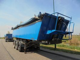 tipper semi trailer Meiller 3-Axle Tipper / 30 m3 / Steel Chassis-Alu Box /  BPW Alxes / Lift Axle 2003