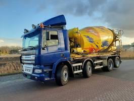 concrete mixer truck DAF ac85.xc.480   8x2 2004