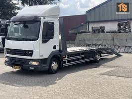 platform truck DAF LF 45 160 AUTO TRANSPORTER - NEUE AUFBAU! - LIER - TUV 6/2020 - TOP CONDITION 2010