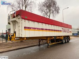 tipper semi trailer Benalu kipper Steel suspension, 64 M3 1983