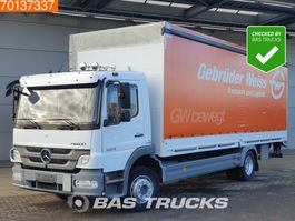 tilt truck Mercedes-Benz Atego 1224 L 4X2 German Truck Automatic Ladebordwand Euro 5 2013