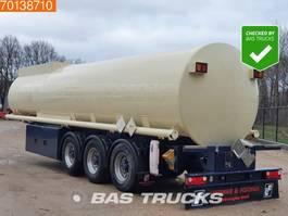 Tankauflieger Auflieger Lindner & Fischer TSA 36 3 axles 34.350 Ltr. Fuel Benzin Pump Counter ADR 2x Liftachse 2009