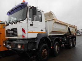 tipper truck > 7.5 t MAN FE 2002