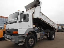 tipper truck > 7.5 t Mercedes-Benz Atego 2000