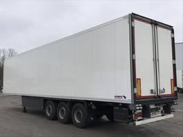 refrigerated semi trailer Schmitz Cargobull 3-ACHS-KÜHLAUFLIEGER SKO 24 L-13,4 Rohrbahnen Fleischhang 2015