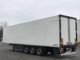 refrigerated semi trailer Schmitz Cargobull 3-ACHS-KÜHLAUFLIEGER SKO 24 L -13,4 Fleischhang Rohrbahnen 2015