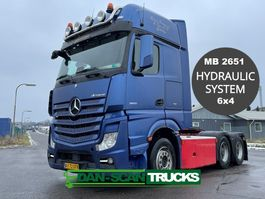cab over engine Mercedes-Benz Actros 2651 MB2651 6x4 hydr. system 2016