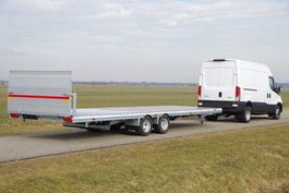 drop side full trailer Veldhuizen 7,8-tons Semi-dieplader aanhangwagen 2021
