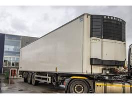 refrigerated semi trailer Chereau CARRIER VEKTOR 1850 MT+DHOLLANDIA 3T.+ ESSIEU DIRECTIONNEL 2008