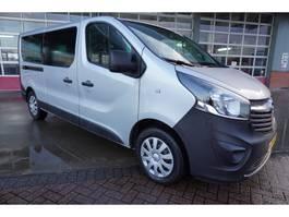 minivan - passenger coach car Opel Vivaro Combi 1.6 CDTI 125PK L2H1 BiTurbo ecoFLEX 9 Persoons Airco/Cruise/navi 2017