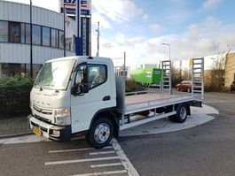 loading ramp truck FUSO Canter TF 9C18/AMT/3850 / OPRIJWAGEN machinevervoer 2021
