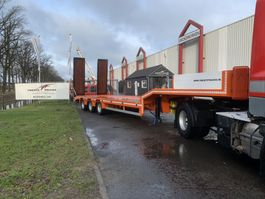 semi lowloader semi trailer KAESSBOHRER Semi dieplader ramps rampen NEW UNUSED low bed boy remorgues remolque 2020