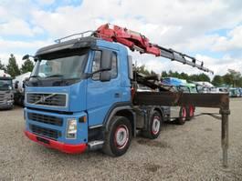 crane truck Volvo FM360 8x2 Crane HMF 3720 K6 2007