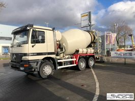concrete mixer truck Mercedes-Benz Actros 2631 Full steel - German truck - 7M3 Stetter 1999