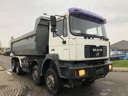 tipper truck > 7.5 t MAN FE 410 (41-414) 2001