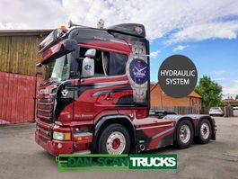 cab over engine Scania R520 6x2 2900mm hydr. system new alcoa weels new paint 2014