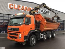 tipper truck > 7.5 t Terberg FM 1950 8x6 Palfinger 16 ton/mtr Z-kraan 2008